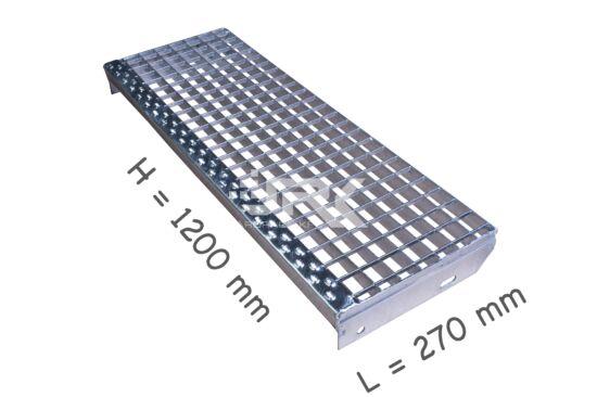 Lépcsőfok 1200x270 mm-es