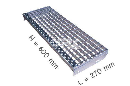Lépcsőfok 600x270 mm-es